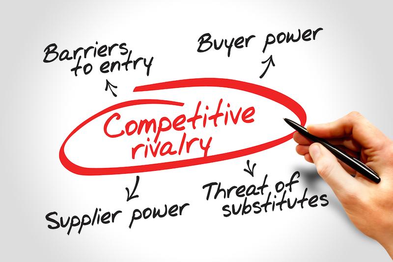 porterio penkios bendros strategijos galimybės)